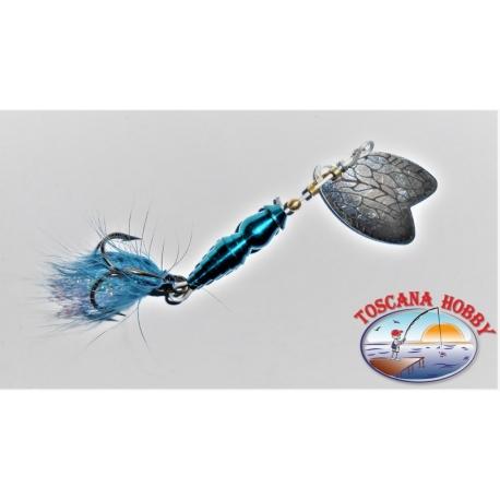 Cucchiaino Mepps a Farfalla Rotante Misura 1 Colore blu.FC.R179