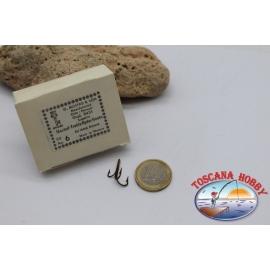 1 box 50 pz. ancorette, Mustad, cod.8431, n.6, gambo corto FC.H2A