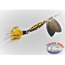 Cucchiaino Mepps a Farfalla Rotante Misura 00 Colore Gold. FC.R171