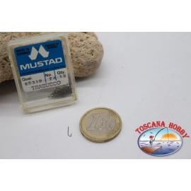 1 box 50 pcs Mustad cod.90310 n.24, Trebuchet FC's.B100G
