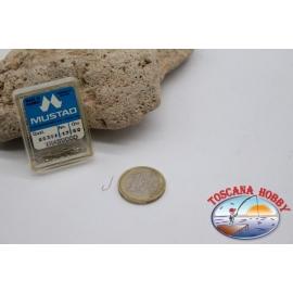 1 box 50 pcs Mustad cod.90311 no.17 FC.B101C