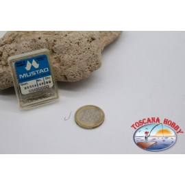 1 box 50 stk. angelhaken Mustad cod.90311 nr. 17 FC.B101C