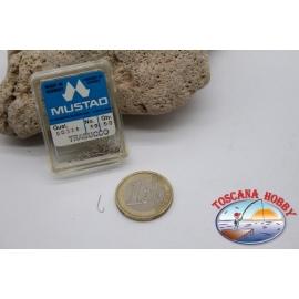 1 box 50 stk. angelhaken Mustad cod.90311 nr. 19 CF.B101E