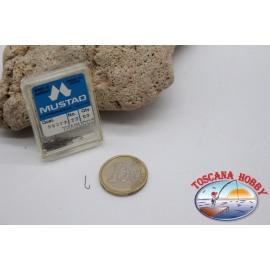 1 box 50 pcs Mustad cod.90313 no.22 FC.B102C