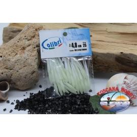 1 sachet, 25 pcs dovetail joints - 4.8 cm - light green CB301