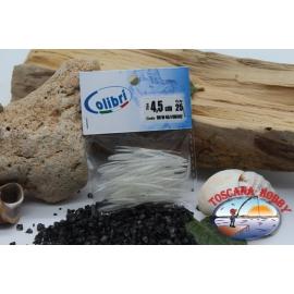 1 sachet, 25 pcs dovetail joints - 4,5 cm - white CB302