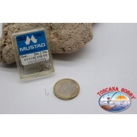 1 box 50 stk. angelhaken Mustad cod.90314 nr. 22 FC.B103D