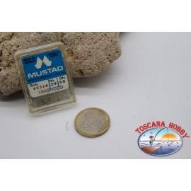 1 box 50 pcs Mustad cod.90314 n.24 FC.B103E