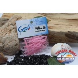1 päckchen mit 25 stk. schwalbenschwänzen - 4,8 cm-pink CB311