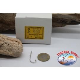 1 caja de 100 unidades Mustad, el bacalao.2330, no.11, Kirby Mar ganchos FC.B122A