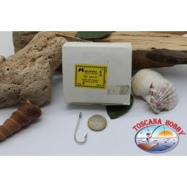 1 box 100 pcs Mustad, cod.2330DT, no.8, Kirby sea hooks, FC.B72O