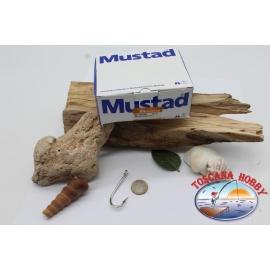 1 box 100 pcs Mustad, cod.2331XD, no.5 Kirby sea hooks, FC.B128C