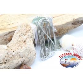 10 pcs a granel, Mustad, el bacalao. 34119CT, N. 8/0, 'shaughnessy mar ganchos, FC.B133A