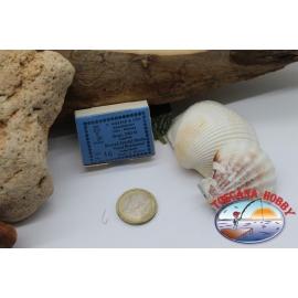 1 box 100 stk, angelhaken Mustad, cod. 220N, nr. 16, Crystal-hooks, FC.B1M