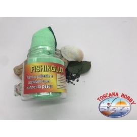 Tuch, reinigungs-und poliermittel für Angelruten - Fishinglux.FC.S102