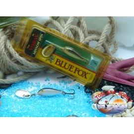 Blue Fox vibrax Rapala Finnland 4 g - 1/8 oz. Farbe: silber.FC.BR372