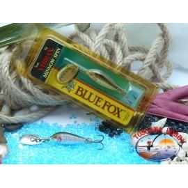 Blue Fox vibrax Rapala Finnland 4 g - 1/8 oz. Farbe: rainbow trout.FC.BR373