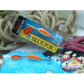 Blue Fox vibrax Rapala Finlandia 4 g - 1/8 oz. Colore: gold fluorescent red.FC.BR375