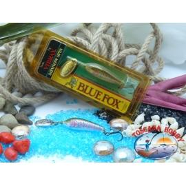 Blue Fox vibrax Rapala Finlandia 5 g - 3/16 oz. Colore: rainbow trout.FCBR377
