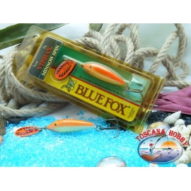 Blue Fox vibrax Rapala Finlandia 5 g - 3/16 oz. Colore: gold fluorescent red.FC.BR381