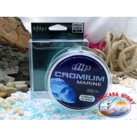 Monofilament DIP Cromium Marine 300 mt. - 0,285 mm – 10,35 kg.FC.F47