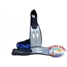 Flossen meer Sealine Sportswear Grau 42-43. LX04/b