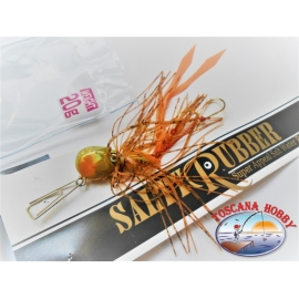 """Duel"" Salty Rubber per Light Jig 20gr Colore CHGO. FC.AR3"