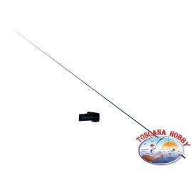 Caña de pescar Fijo Gozzilla meridiano de 6m de carbono CA.17