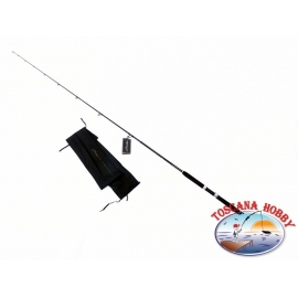 The rod the FIN-NOR Lethal Sea Spin. CW 30/70 gr. Measure 2,70 .FC.CA53