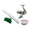 Zuckerrohr DIP Astra spin. Maße 2,40 m + Angelrolle Singnol SWT 4000.FC.ca37-m39