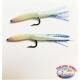 2 schwalbenschwänzen montiert mit holographischen 5cm. ca. FC.R268