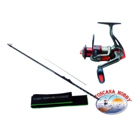 Canna ALCEDO GL Lake Trout A. 2. Measure 4,10 + Reel Singnol SGH 2000.FC.ca39-m37