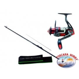 Canna ALCEDO GL Lake Trout A. 2. Measure 4,10 + Reel Singnol SGH 2000.FC.ca39-m37