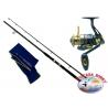The barrel DIP Dyna Big Fish action 270 + Reel Singnol SSD 6011.FC.ca43-m42