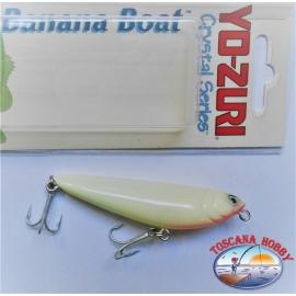 Artificiale Banana Boat Yo-zuri, Crystal series 7,5CM-8GR Floating colore:LSRG - FC.AR16