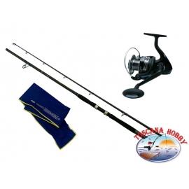The barrel DIP Dyna Big Fish - action 270 + Reel ALCEDO Carisma Mule 800S HD.FC.ca43-m91