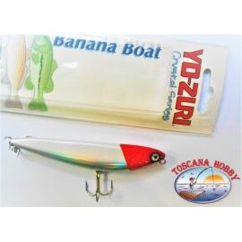 """Künstliche Banane """" Yo-zuri 10CM-14GR-Floating-farbe:HRH - FC.AR17"""