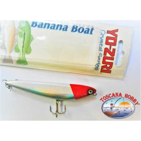 """Künstliche Banane """" Yo-zuri Crystal-serie 7,5 CM-8GR-Floating-farbe:HRH - FC.AR17"""