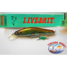 Künstliche Livebait Minnow Yo-zuri, 11CM-20GR Floating farbe:AAJ - FC.AR20