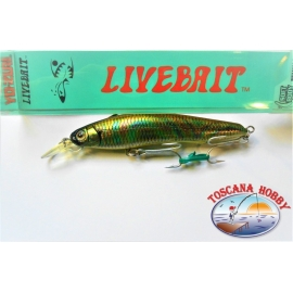 Artificiale Livebait Minnow Yo-zuri, 11CM-20GR Floating colore:AAJ - FC.AR22