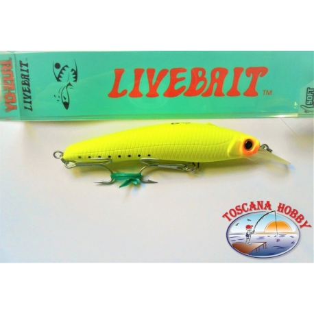 Artificial Livebait Minnow Yo-zuri, 11CM-20 G Floating color:MCSR - FC.AR23
