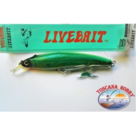 Artificial Livebait Minnow Yo-zuri, 13CM-28GR Floating color:ALSM - FC.AR24