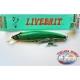 Artificielle Livebait Minnow Yo-zuri, 13CM-28GR Flottant couleur:MDIHA - FC.AR24
