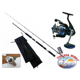 The rod the FIN-NOR Lethal-Sea-Spin CW 30/70 + Rell FIN-NOR Tidal 565.FC.ca53-m89-lc08