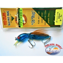 Artificiale Slavko Bug Yo-zuri, 6,5CM-5GR Floating colore:B174 - FC.AR25