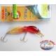 Künstliche Slavko Bug Yo-zuri, 7CM-7GR-Floating-farbe:B172 - FC.AR26