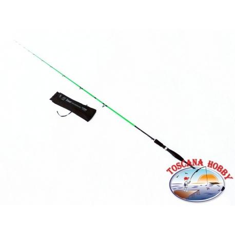 Canne à pêche de la Truite de Lac DLT 2,1 mt. idéal pour Eging