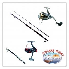 Caña de Pescar y Carrete